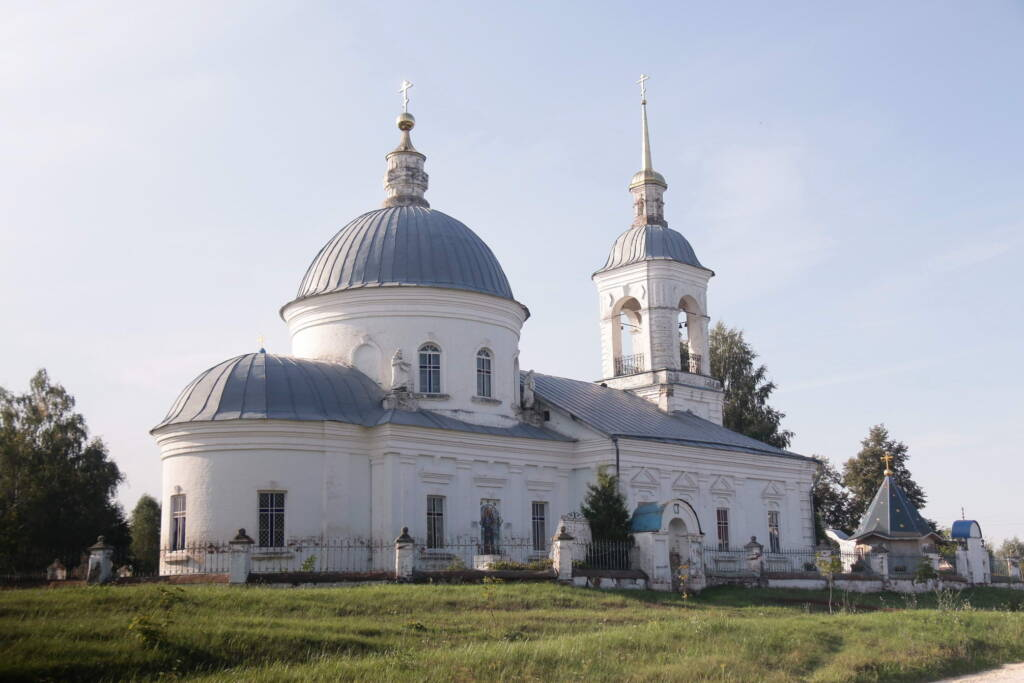 Престольный праздник в храме в честь Нерукотворного Образа Спасителя села Борки Шиловского района