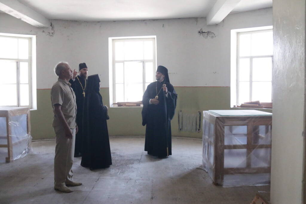 Архипастырский визит в Милостиво-Богородицкий женский монастырь п. Кадом