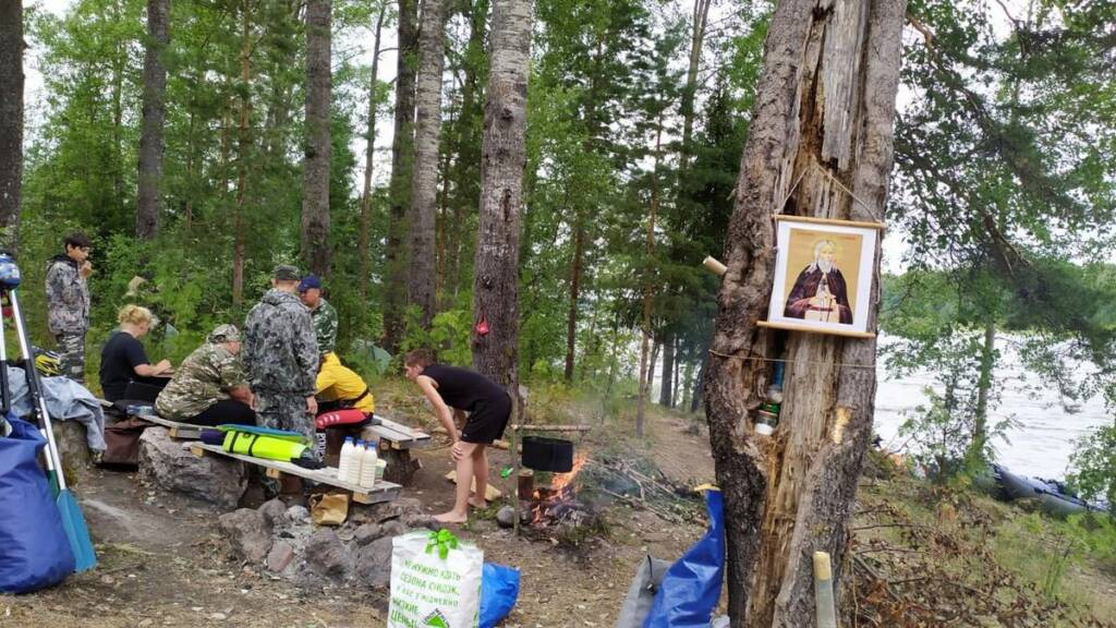 Завершился историко-туристический переход на катамаранах по маршруту Кадом — Саров — Валаам в память о преподобном Германе Аляскинском