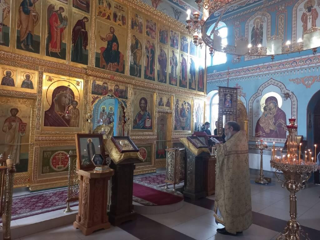 Соборное богослужение клириков Пятницкого благочиния