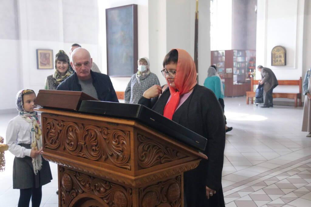Божественная Литургия в Неделю 12-ю по Пятидесятнице в Вознесенском Кафедральном соборе города Касимова