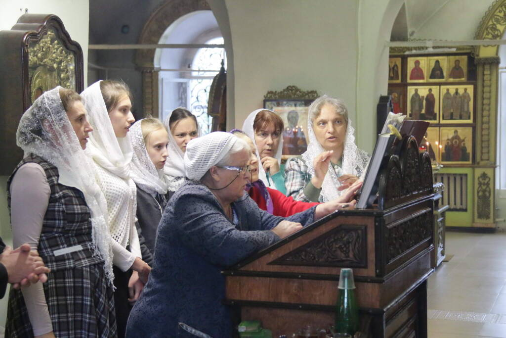 Всенощное бдение в канун дня памяти перенесения мощей священноисповедника Сергия Касимовского в Троицком храме г. Касимова