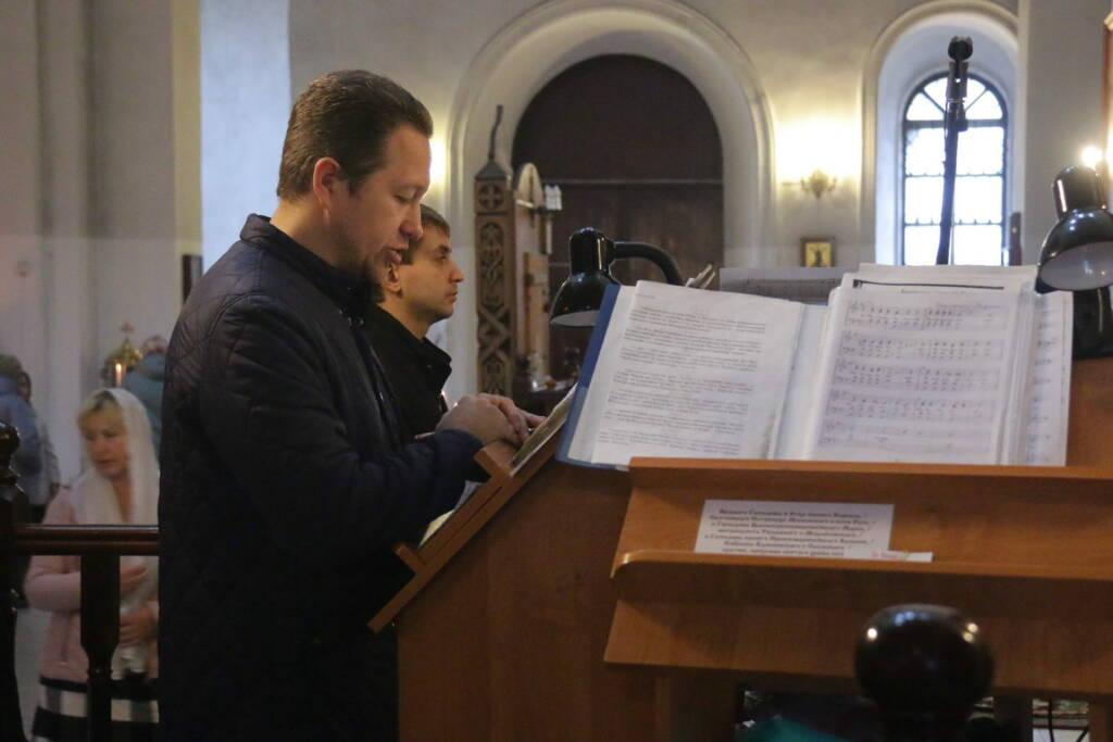 Божественная Литургия в Неделю 14-ю по Пятидесятнице в Вознесенском Кафедральном соборе города Касимова