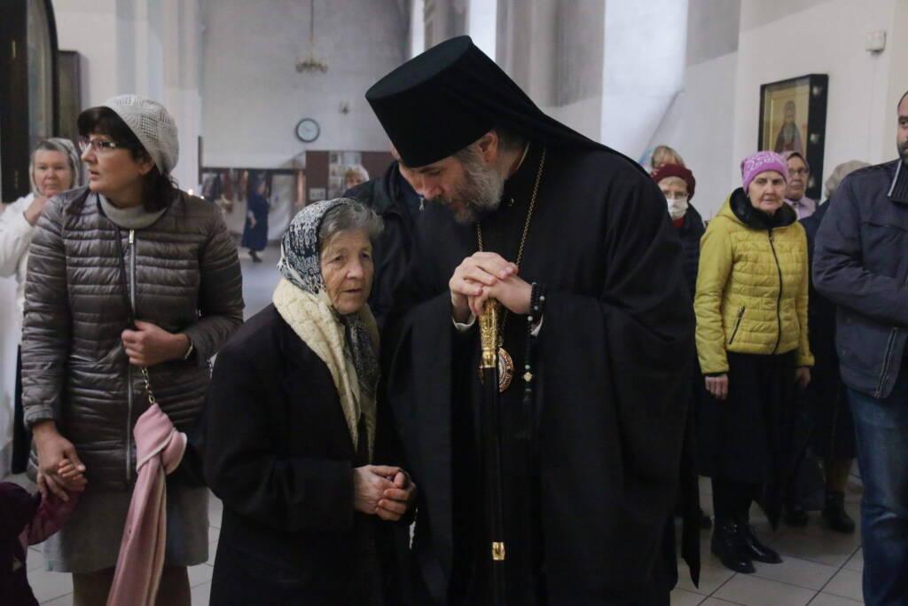 Божественная Литургия в празднование Воздвижения Честного и Животворящего Креста Господня в Вознесенском Кафедральном соборе города Касимова