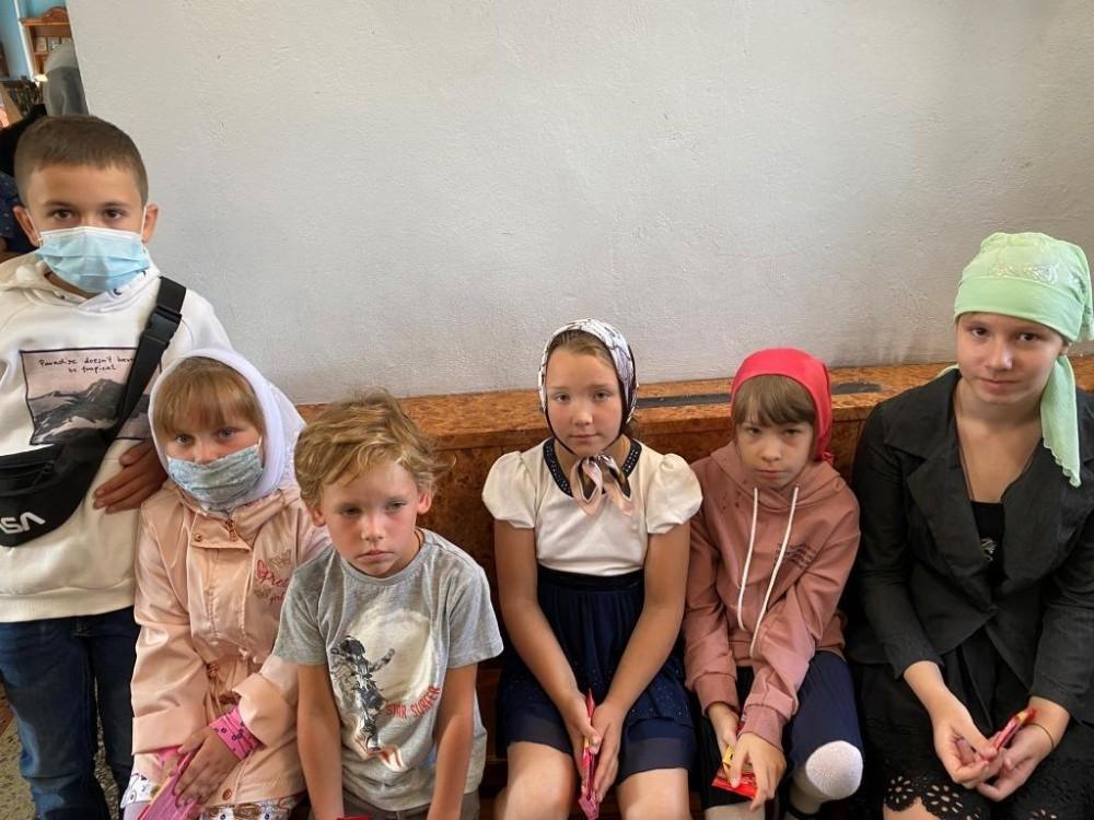 Молебен в начале учебного года в р.п. Шилово