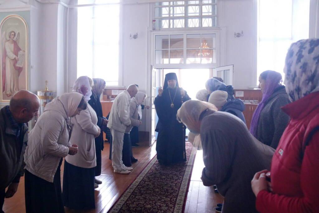 Божественная Литургия в Милостиво-Богородицком женском монастыре п. Кадома по случаю 270-летия со дня рождения преподобного Германа Аляскинского