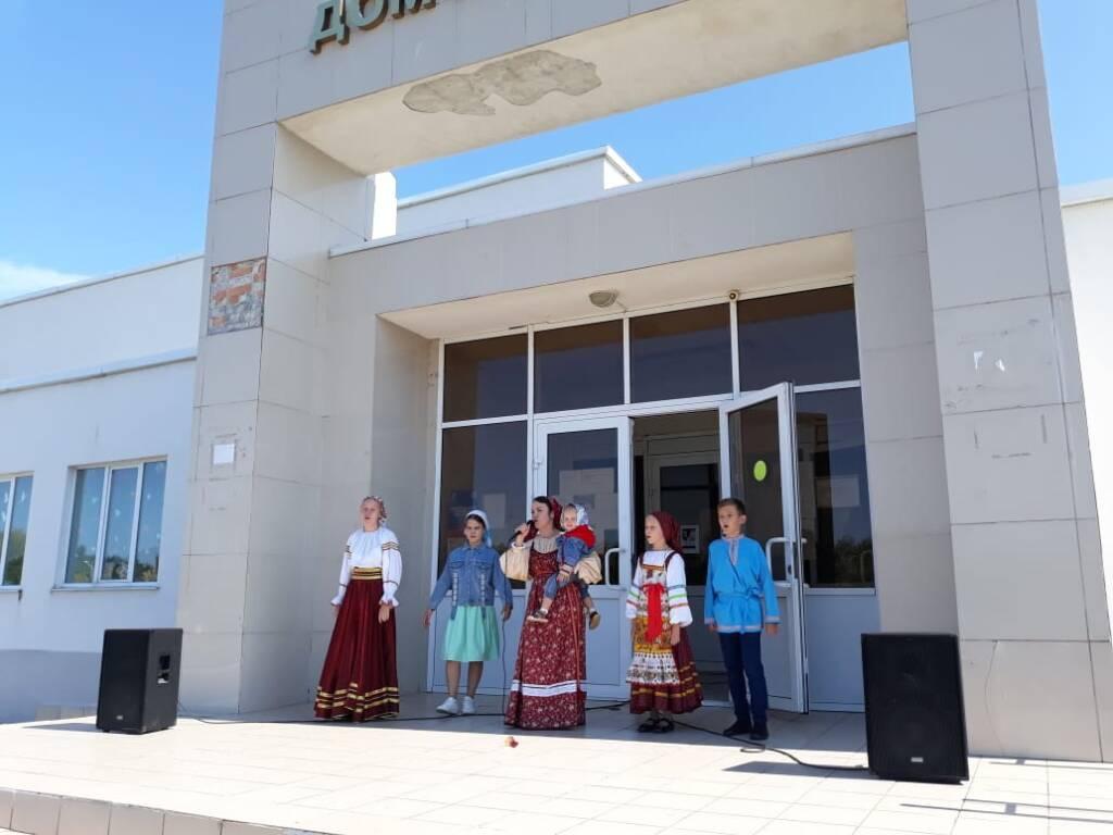 Приход Успенской церкви с. Огарево-Почково Сасовского района организовал концерт детей с ограниченными возможностями
