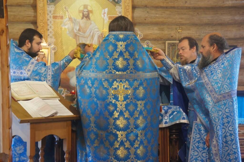 Соборное служение Сасовского духовенства