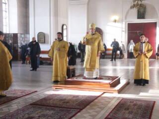 Божественная Литургия в Неделю 17-ю по Пятидесятнице в Вознесенском Кафедральном соборе города Касимова